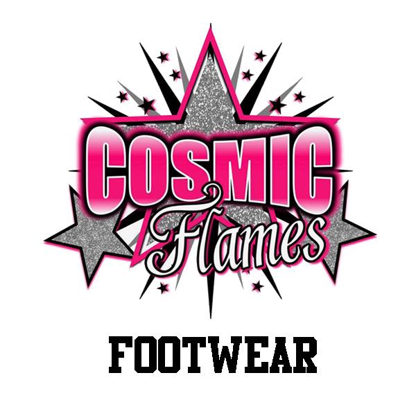 Comic Flames Footwear